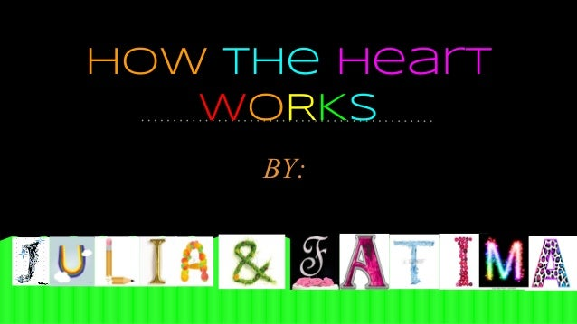 How the Heart WORKS BY: