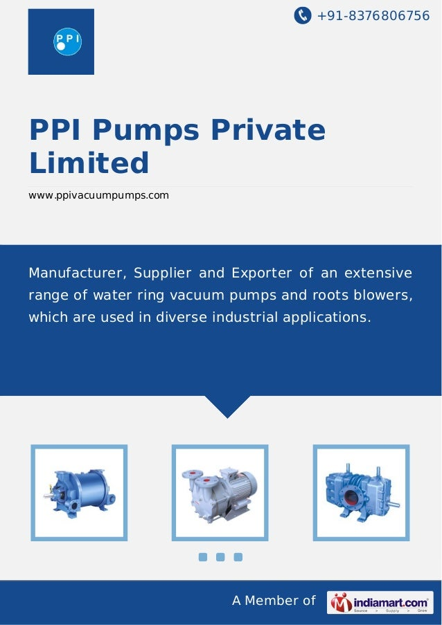 Ppi pumps-private-limited