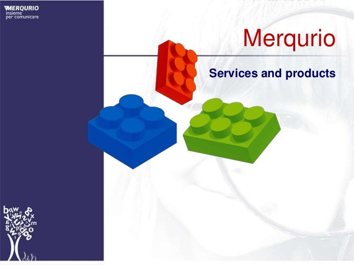 Merqurio<br />Services and products<br />