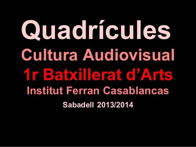 Alvarez, Marc QUADRICULES