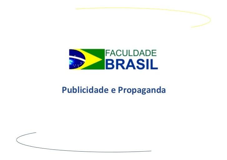 PublicidadeePropaganda