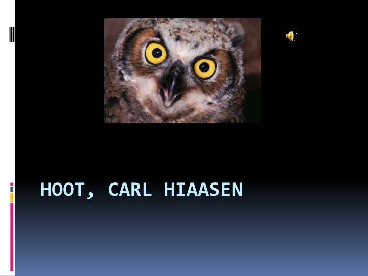 Hoot, Carl Hiaasen<br />