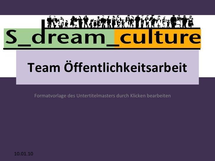 Team Öffentlichkeitsarbeit
