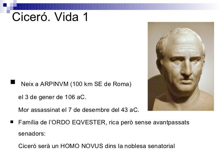 Cicero_vida