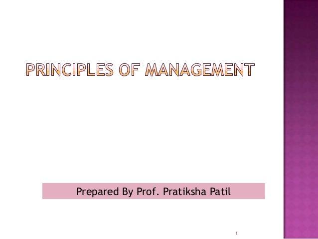 Prepared By Prof. Pratiksha Patil                                    1