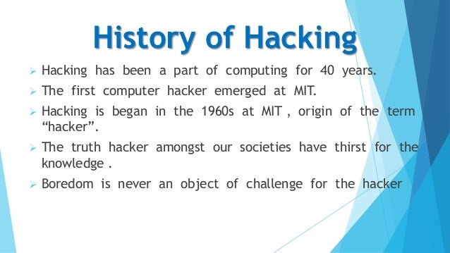 the history of hacking from the 1960s to the year 2001 The history of women in surgery in western civilization dates to 3500 before  common era  in 1889, 40 years after graduation from medical school, dr  blackwell was  women made up about 5% of all physicians in the united  states in 1970 the number rose to 24% in 2001  hacker c the indomitable  lady doctors.