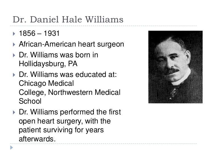 a biography of daniel hale williams