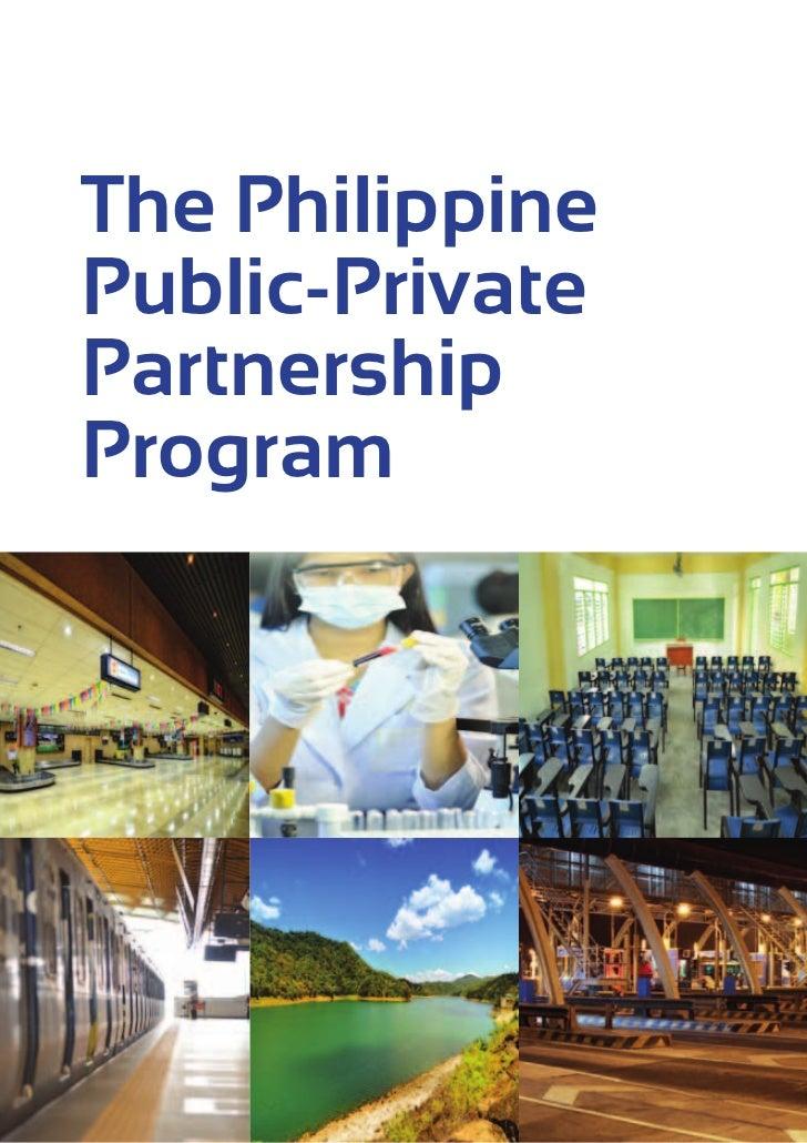 The PhilippinePublic-PrivatePartnershipProgram