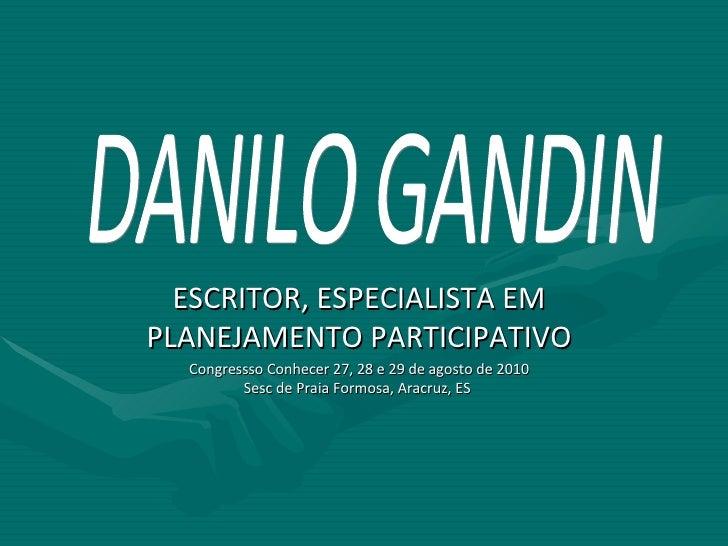Projeto Político Pedagógico - Danilo Gandin