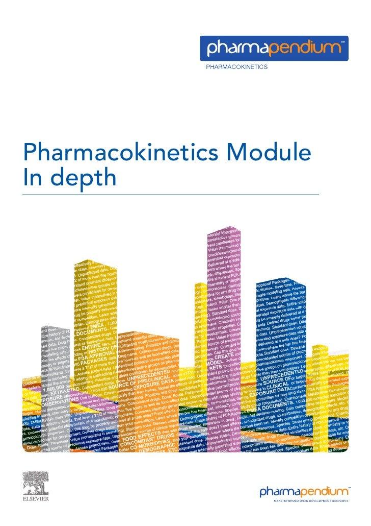 Pharmacokinetics Module In depth