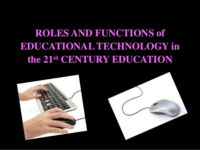 functions of educational technology pdf