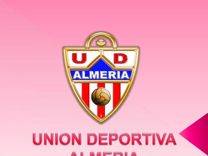 UNION DEPORTIVA ALMERIA<br />