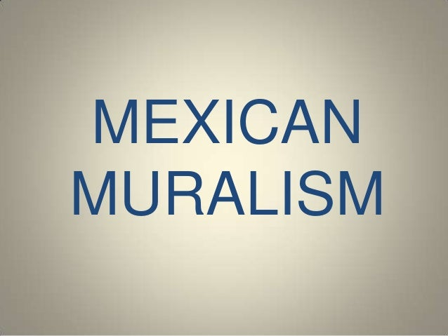 MEXICANMURALISM
