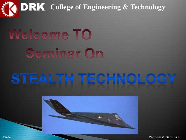 Presentation on stealth technology
