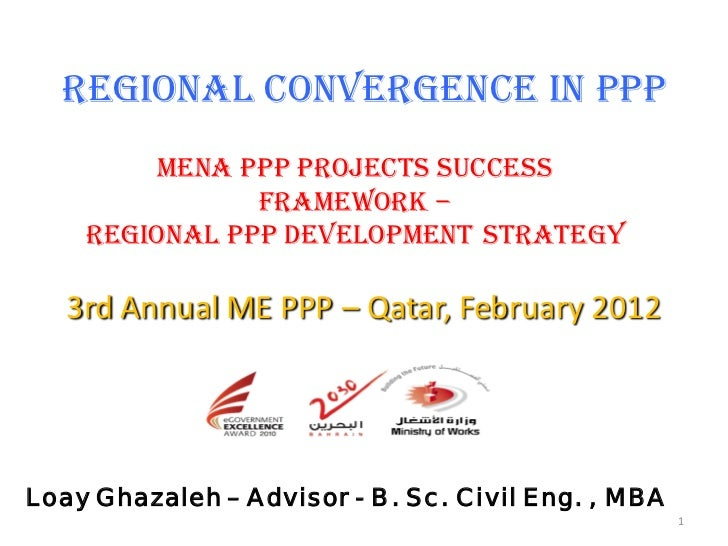 MENA Region PPP Development Strategy and Success Framework