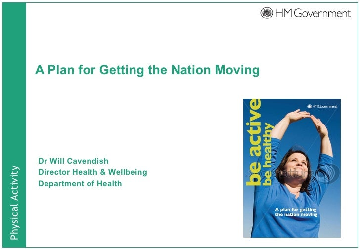 A Plan for Getting the Nation Moving - Dr Will Cavendish