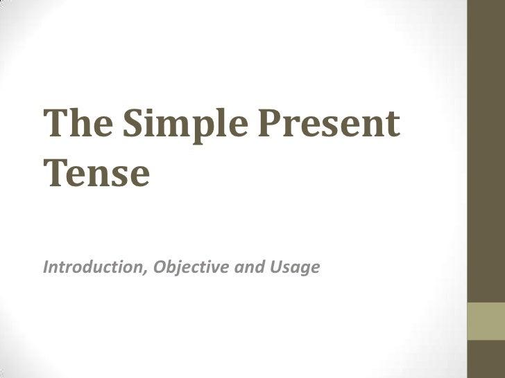 Pp presentation 1 (s. p. tense)