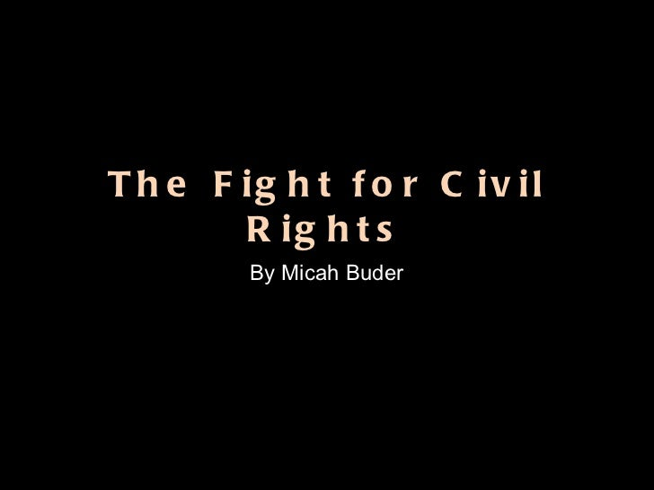 Civil Rights PP Example