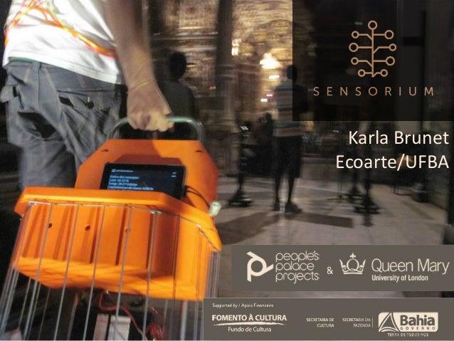 Sensorium no People's Palace Projects