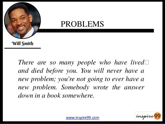 so Many Problems Quotes Problems There Are so Many