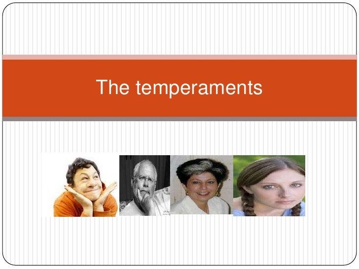 The temperaments