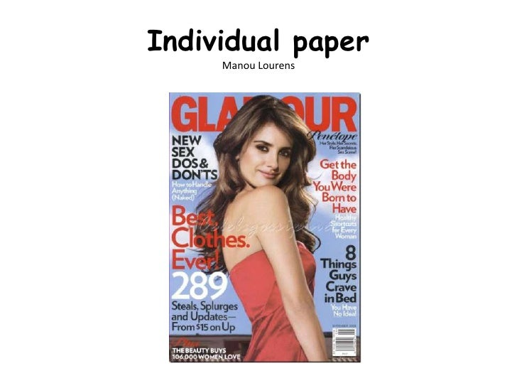 Individual paperManou Lourens<br />