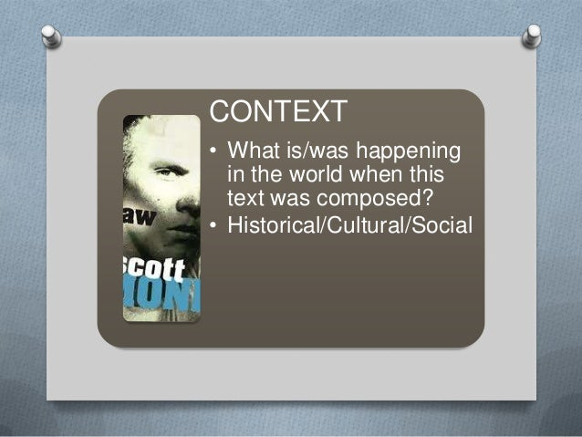 raw by scott monk summary This learning object is designed to aid instruction and learning of raw by scott monk the focus here is on text analysis and how it relates to the concept o.