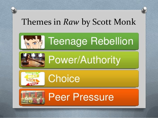 raw relationships scott monk Assessment decision = b  novel study: raw by scott monk in the novel, raw,  relationships between characters for example, the dialogue between brett.