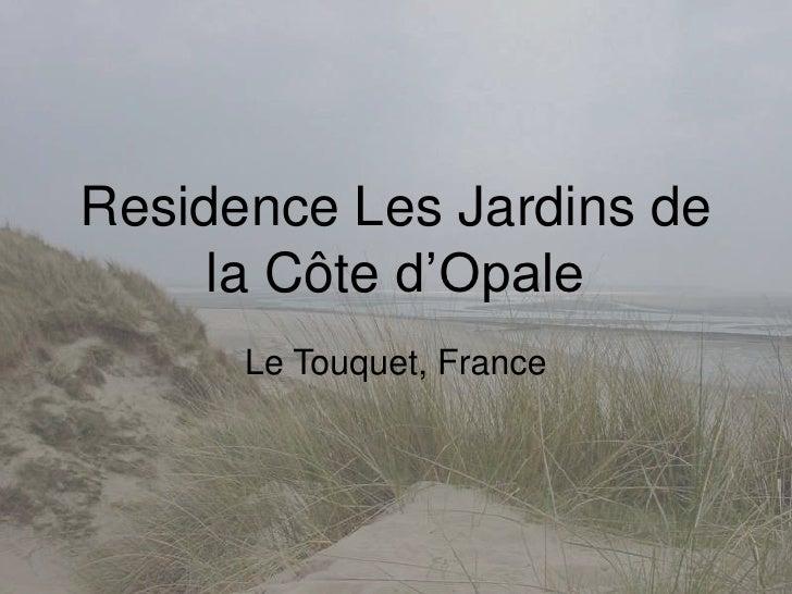 """For Sale Apartment in Residence les Jardins de la Cote d""""Opale"""
