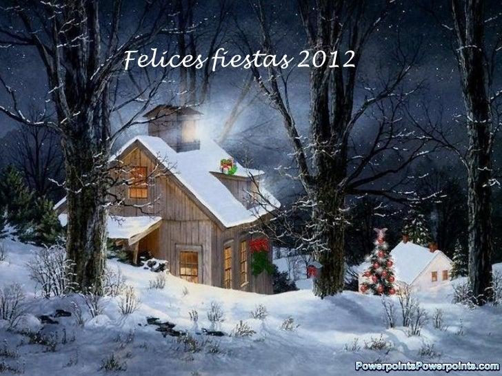 Felices fiestas 2012