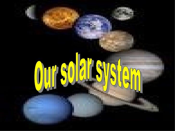 Pp Solar System Blanca y Marta 6th B