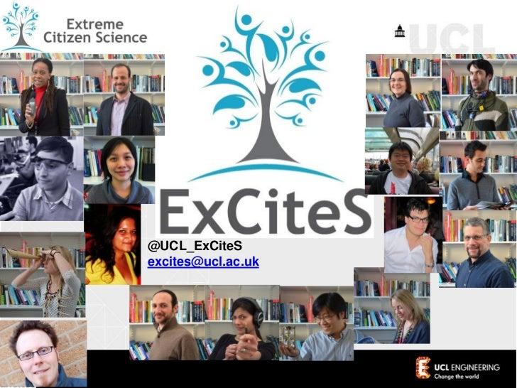 Extreme Citizen Science - Public Participation in Scientific Research 2012