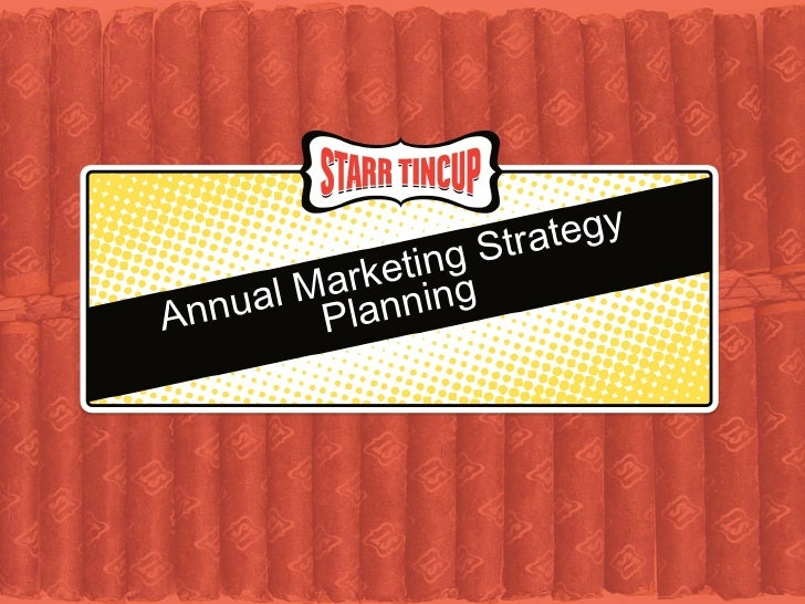 Annual Marketing Strategy Planning