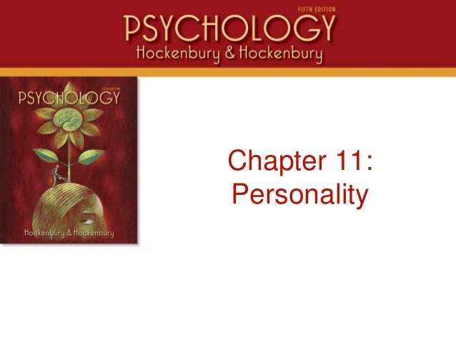 IntroChapter 11:Personality