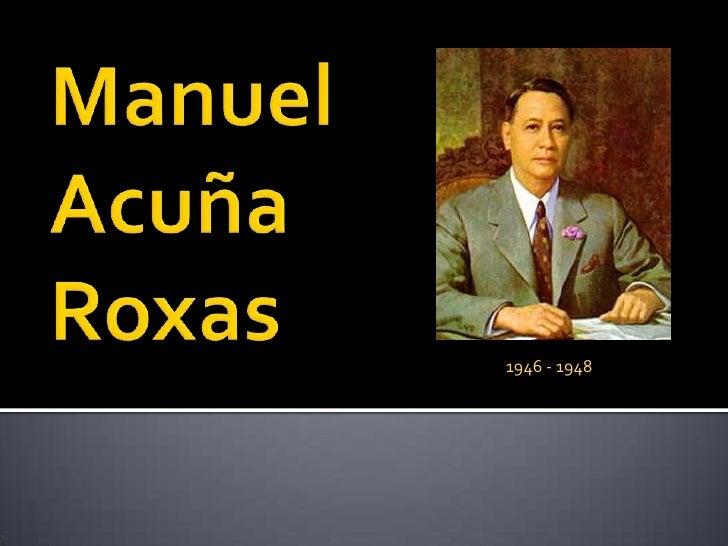 QuirinoRoxasMagsaysay