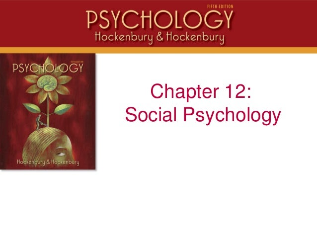 PSYC 1113 Chapter 12