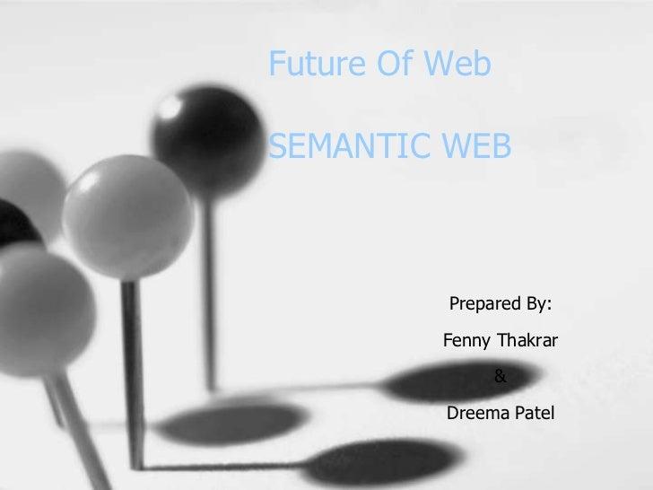 Semantic Web for College Presentations