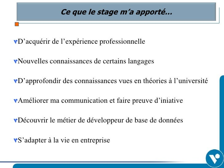 photo comment chercher un stage ppt