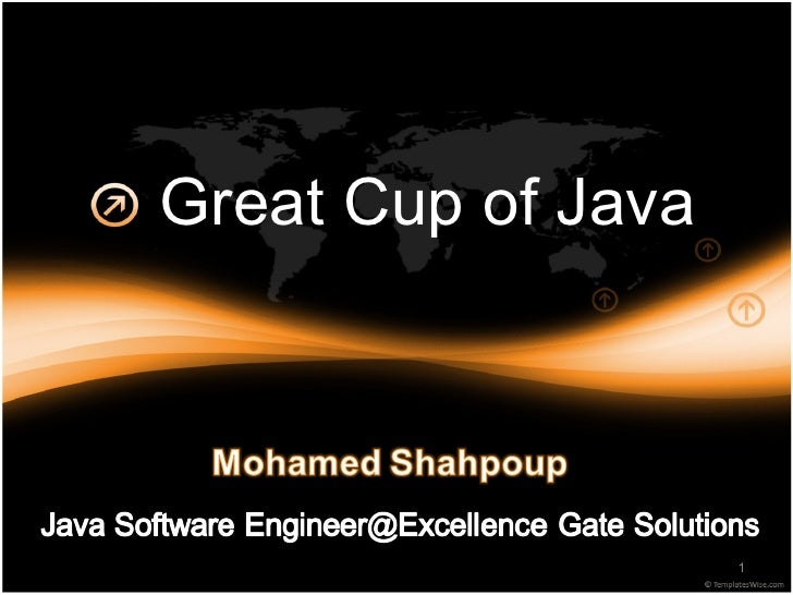 Great Cup od Java