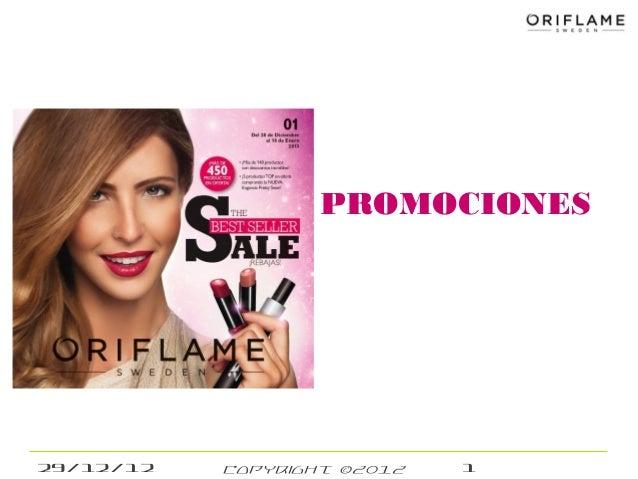 PROMOCIONES29/12/12   Copyright ©2012   1