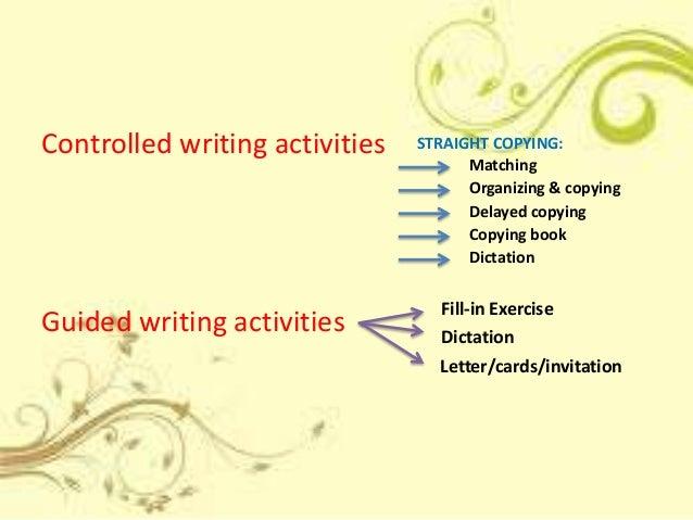 English writting experiences...?