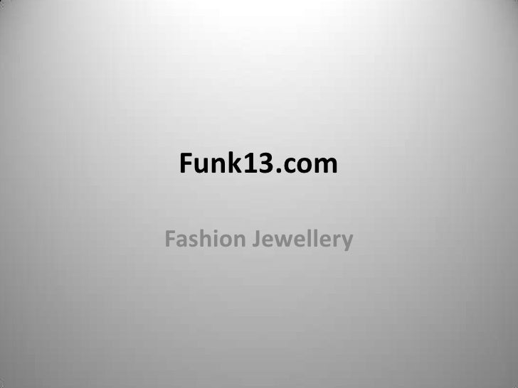 Funk13.comFashion Jewellery