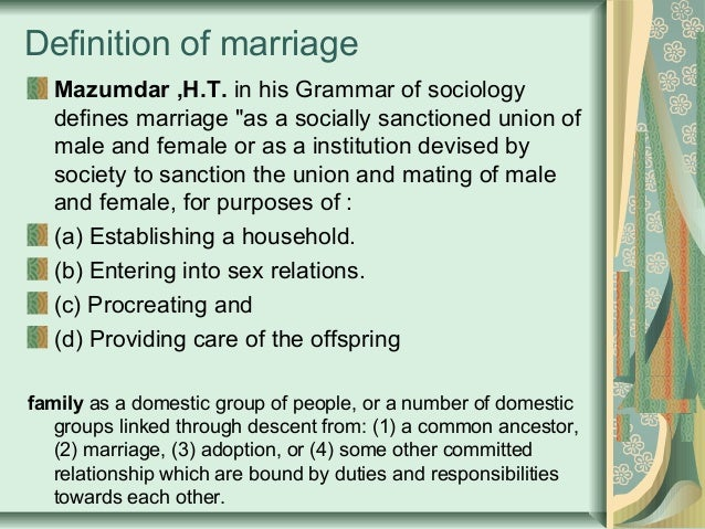 Combolo definition of marriage