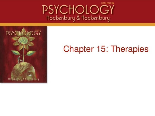 IntroChapter 15: Therapies