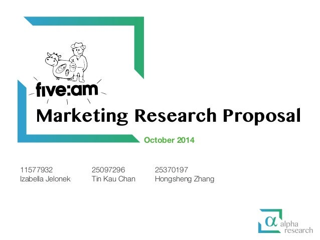 Research proposal on advertising