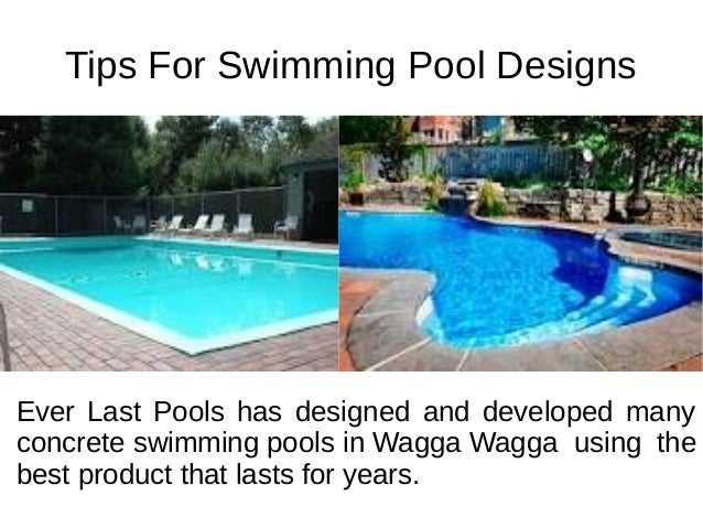 Designs For Swimming Pools