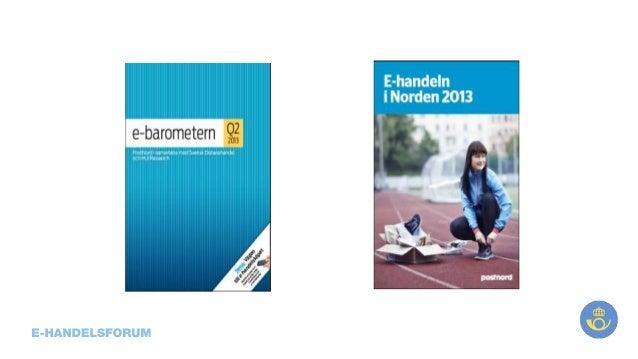 Ppt till e handelsforum - ebarometern q2 2013 1 0
