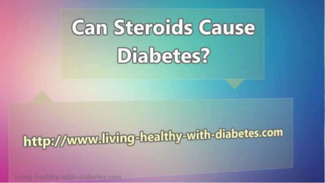 inhaled steroids cause diabetes