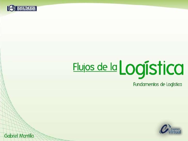 Flujos de Logistica