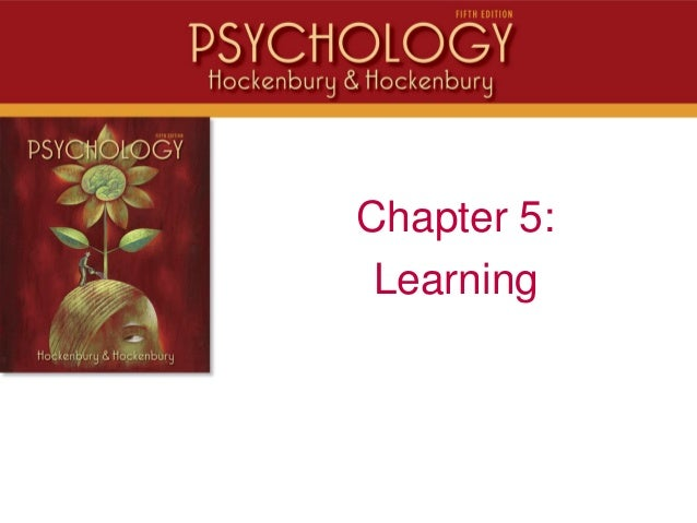 Chapter 5:Learning
